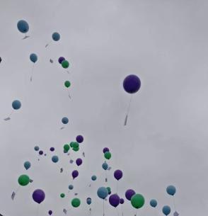 Luftballonflug